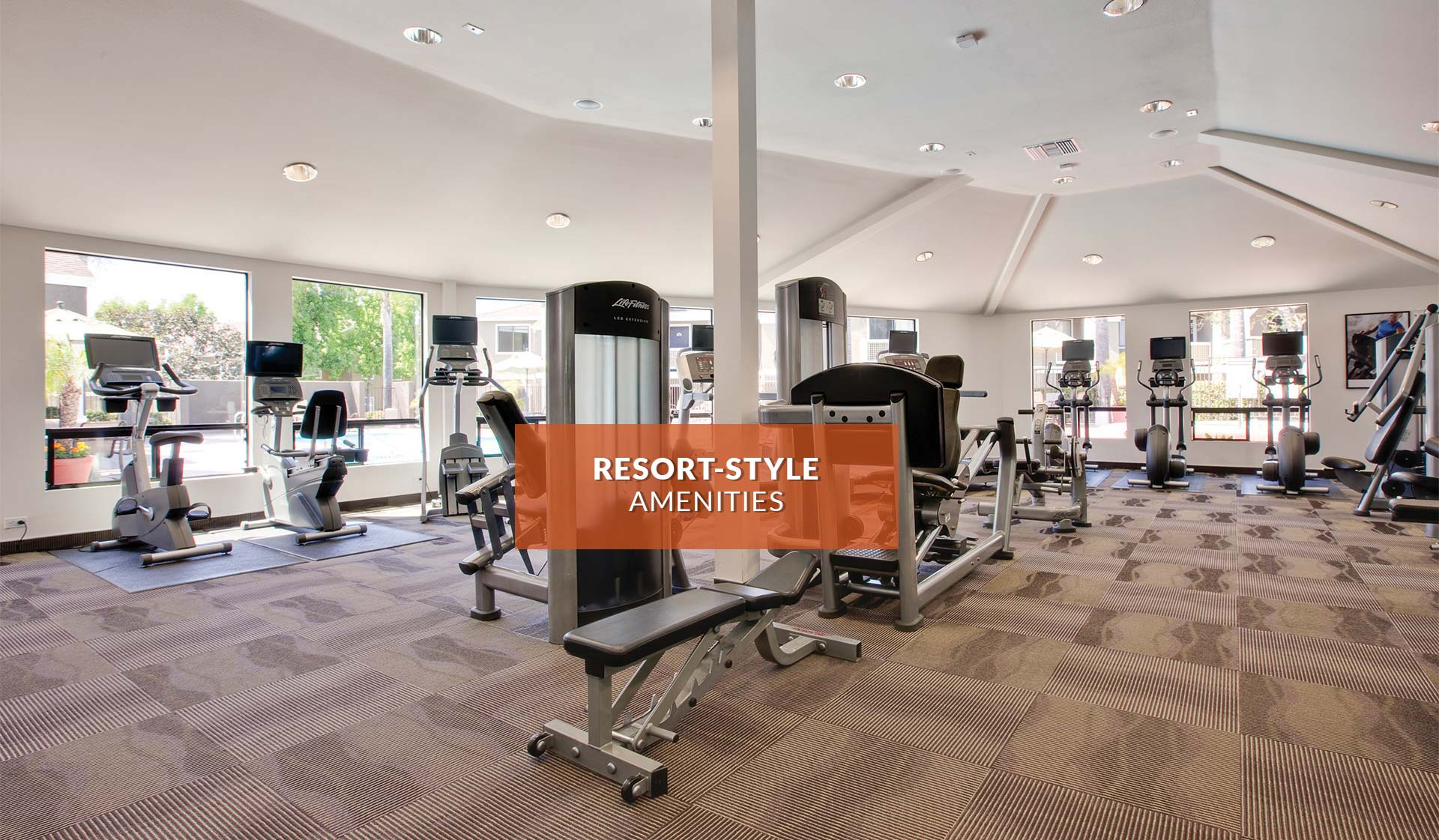 Island Club Apartments - Fitness Center - Oceanside, CA